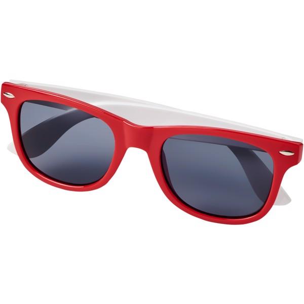 Sluneční brýle Sun Ray v různých barvách - Červená s efektem námrazy