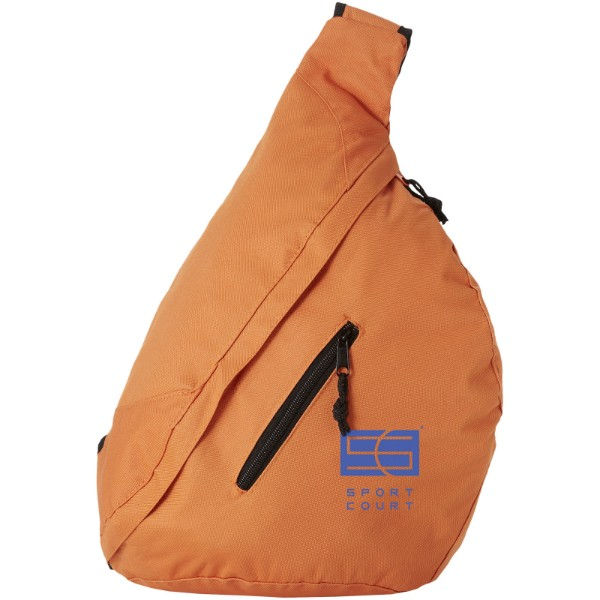 Brooklyn mono-shoulder backpack - Orange