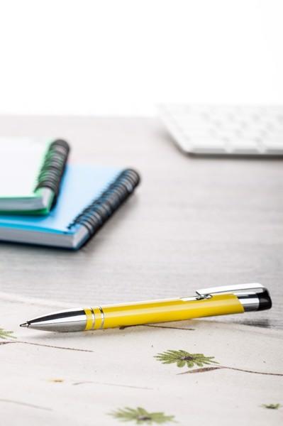 Kuličkové Pero Fokus - Žlutá