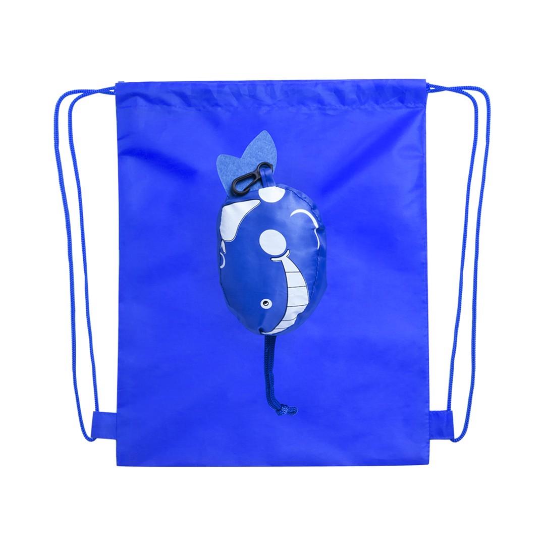 Mochila Dobrável Kissa - Azul