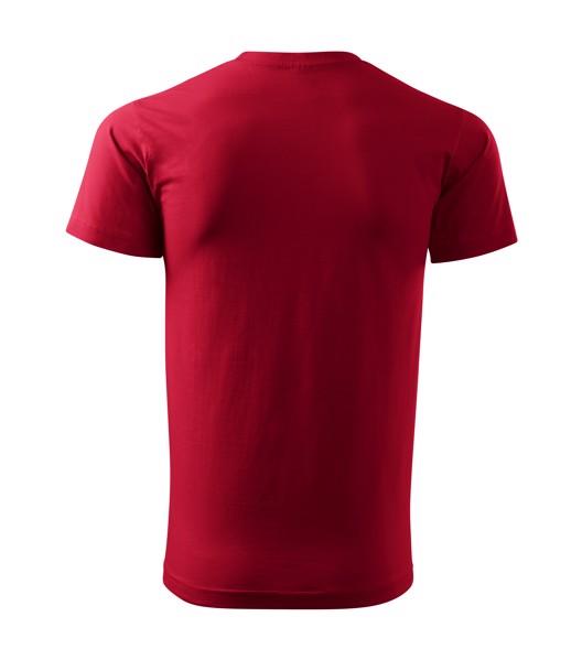 Tričko pánské Malfini Basic - Marlboro Červená / M