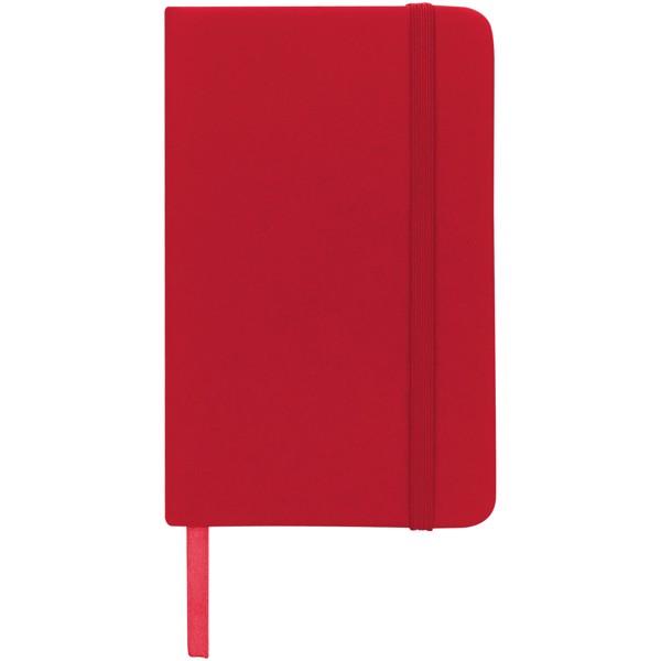 Zápisník s pevnou obálkou A6 Spectrum - Červená s efektem námrazy