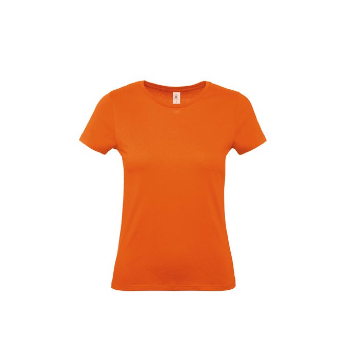 T-shirt female 145 g/m² #E150 /Women T-Shirt - Orange / M