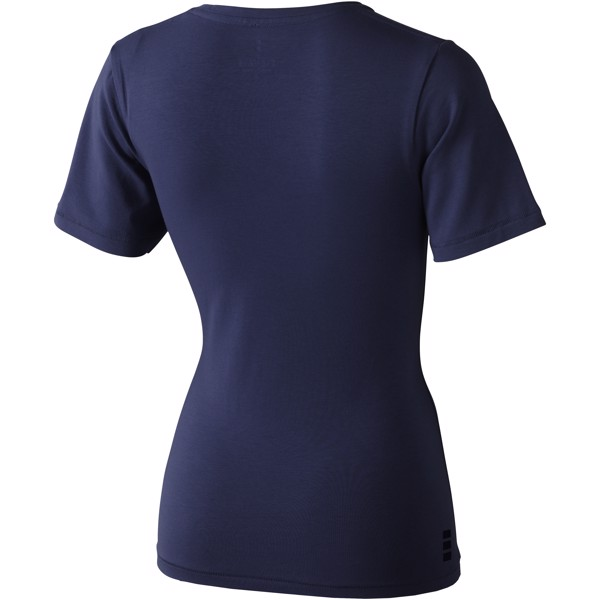 Kawartha short sleeve women's GOTS organic t-shirt - Navy / L
