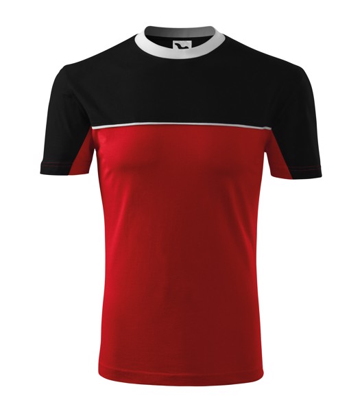 Tričko unisex Malfini Colormix - Červená / XL