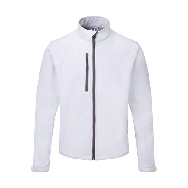 Men's Softshell 340 g/m2 Soft Shell Jacket R-140M-0 - White / XXL