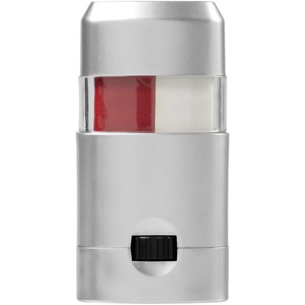 Velox barva na tělo - Bílá / Červená s efektem námrazy