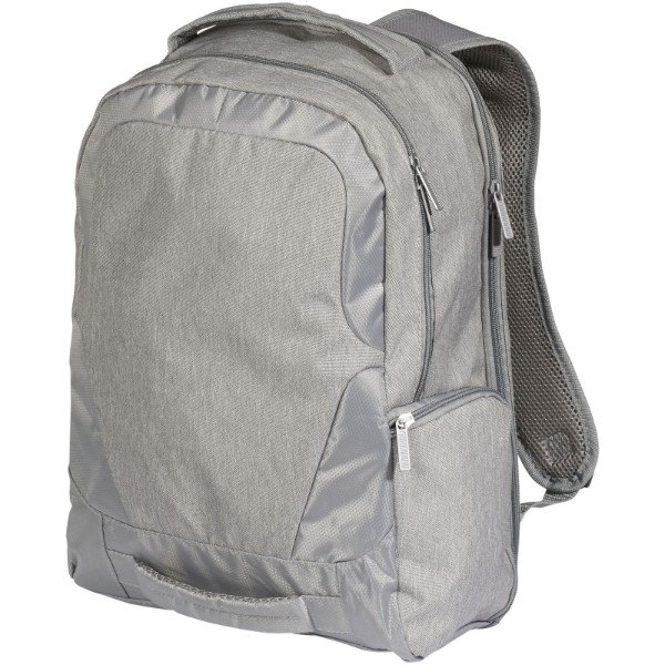 "Overland 17"" TSA laptop backpack - Heather grey"