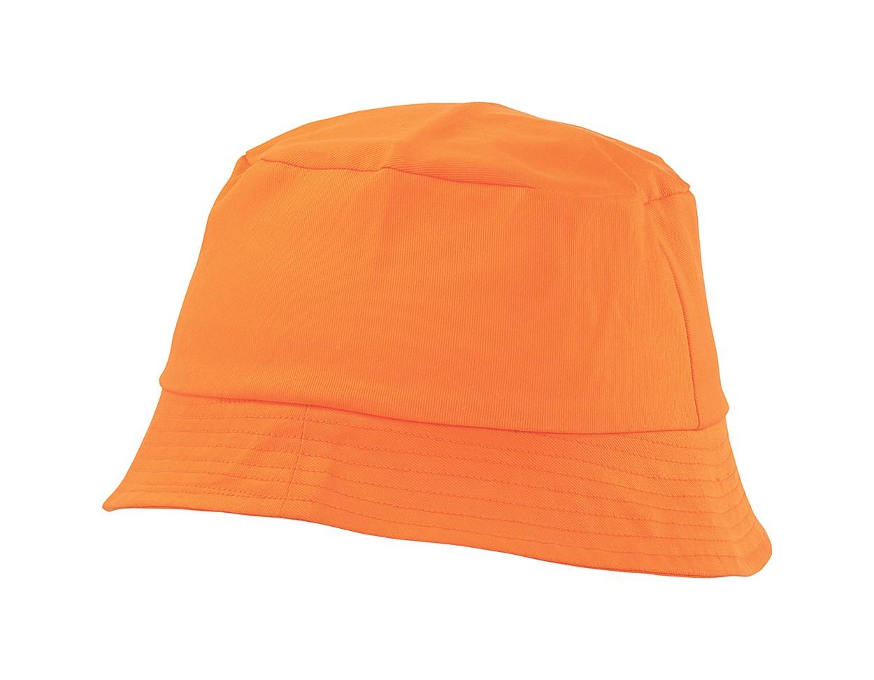 Plážový Klobouček Marvin - Oranžová