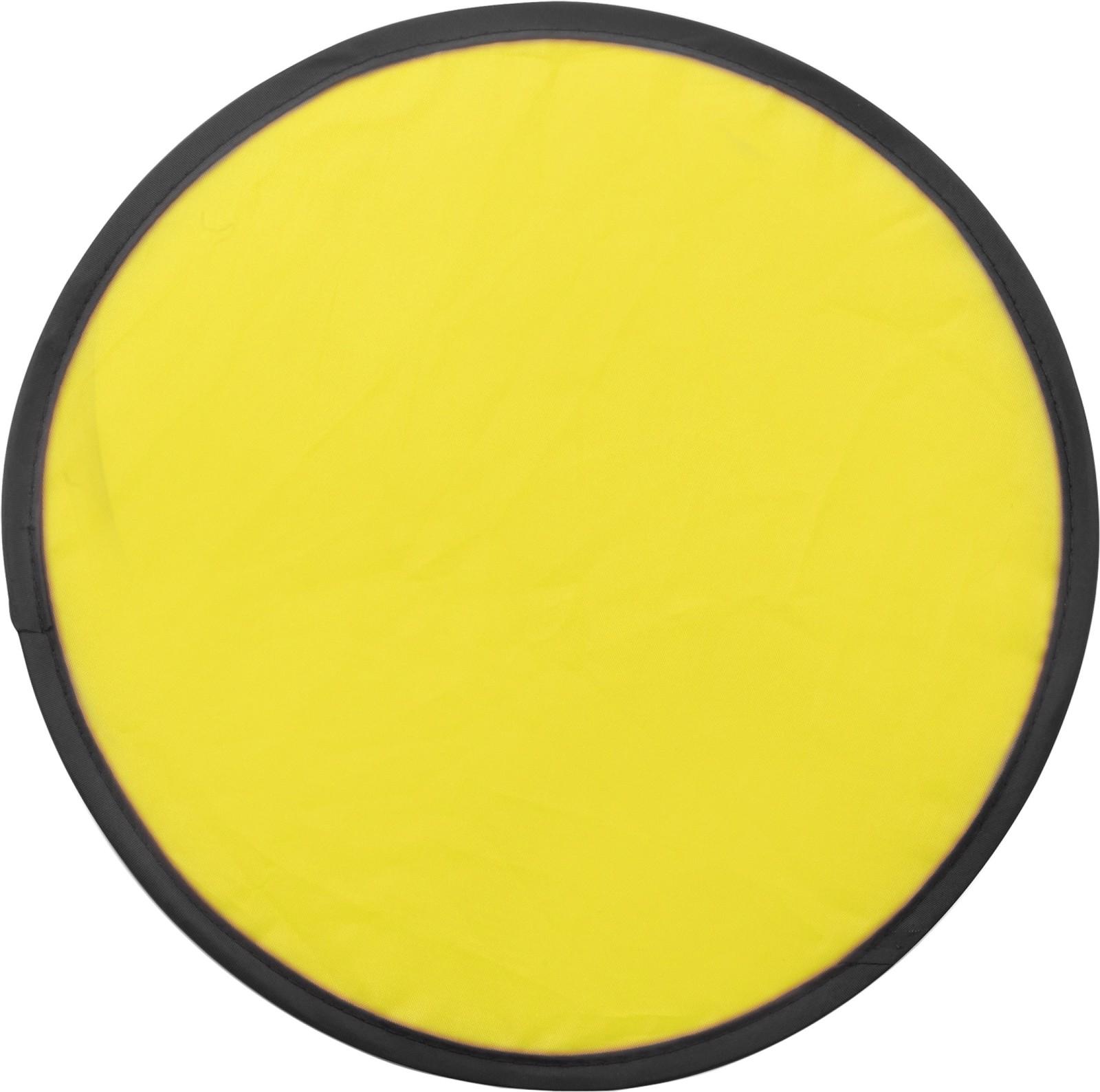 Nylon (170T) Frisbee - Yellow