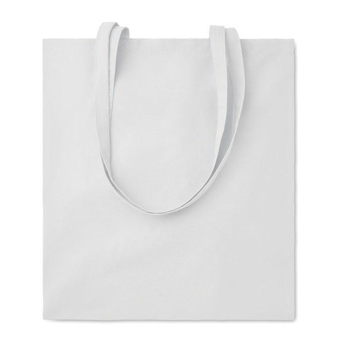 Bawełniana torba na zakupy Cottonel Colour ++ - biały