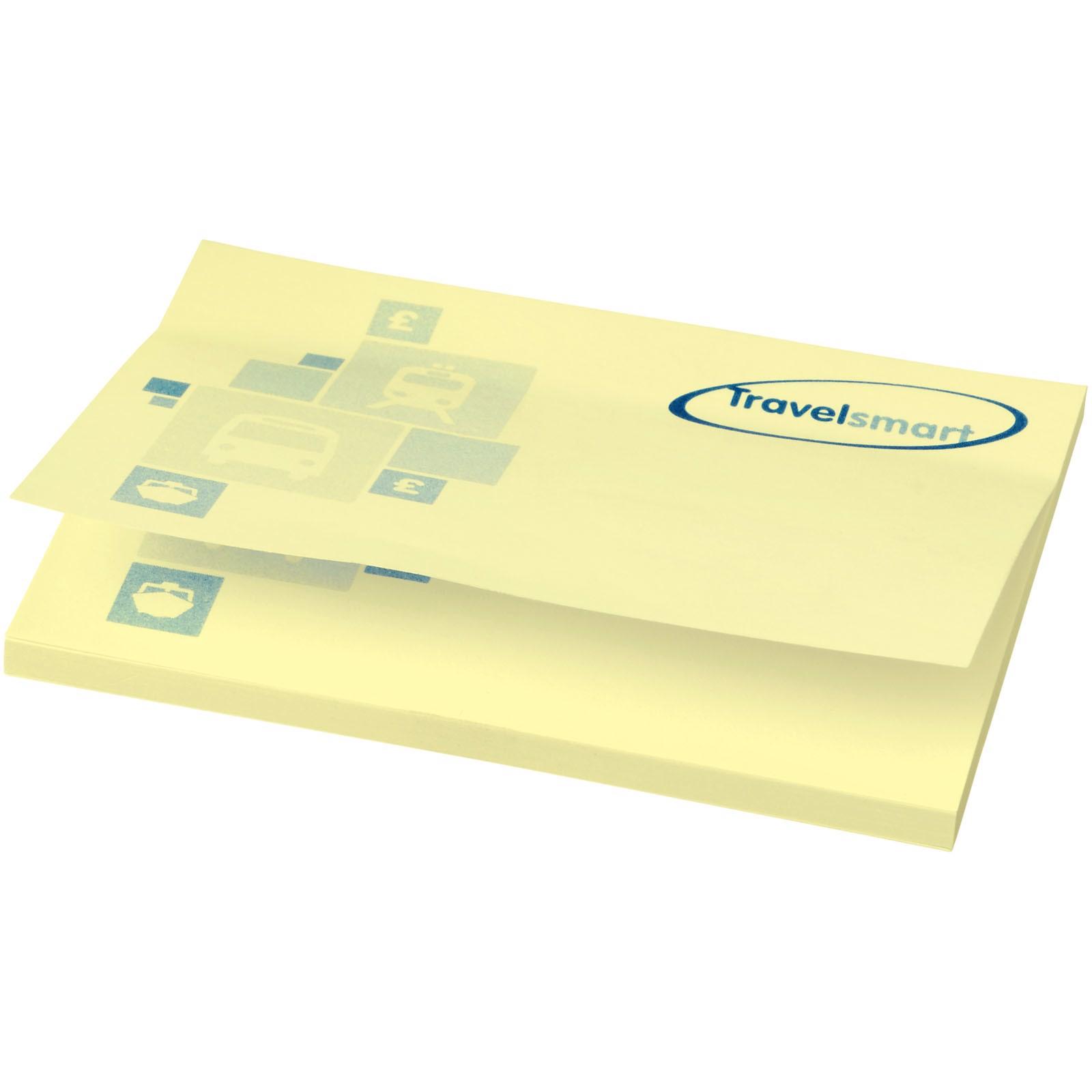 Samolepicí lístečky Sticky-Mate® 100x75mm - Světle žlutá / 50 pages