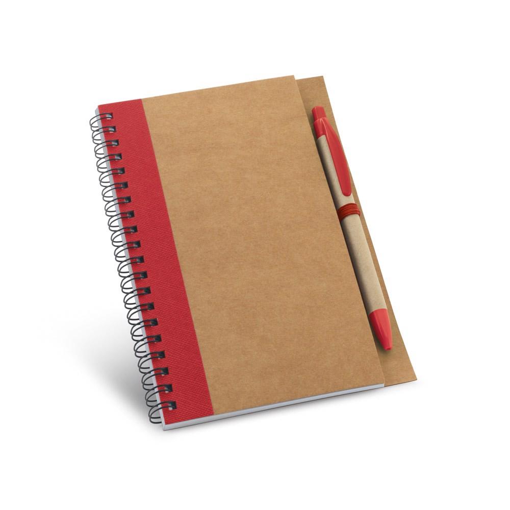 ASIMOV. Bloc de notas B6 - Rojo