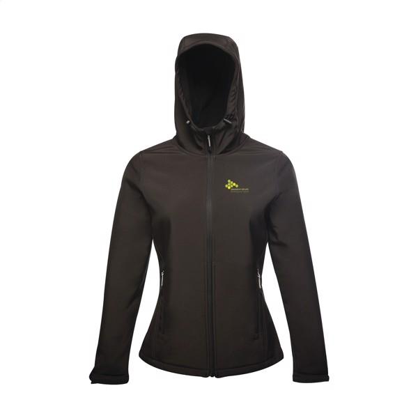 Regatta StandOut Arley Hooded Softshell Jacket ladies - Black / 3XL