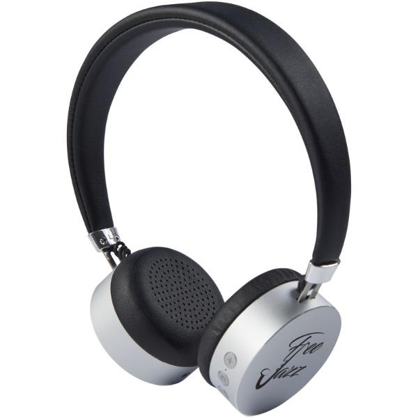 Kovová Bluetooth® sluchátka Millennial - Stříbrný