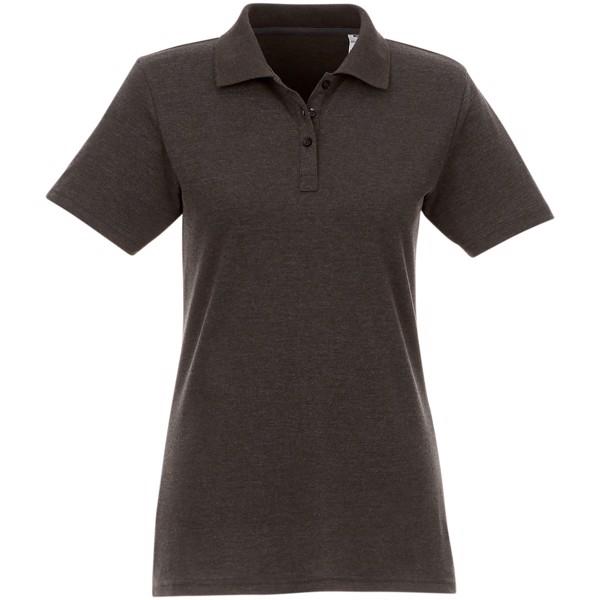 Helios short sleeve women's polo - Charcoal / L