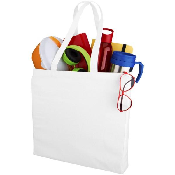 Odessa 220 g/m² cotton tote bag - White