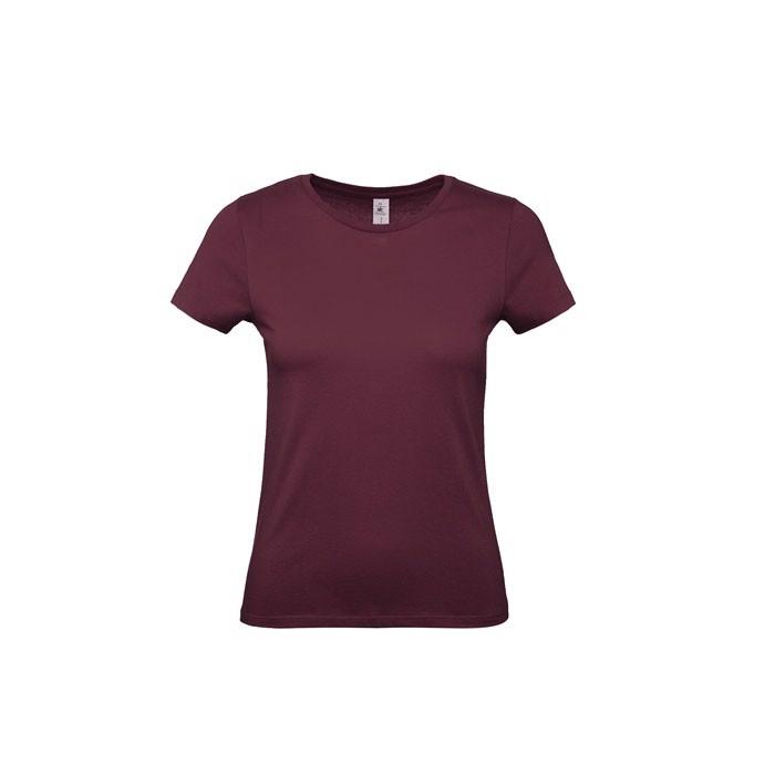 T-shirt female 145 g/m² #E150 /Women T-Shirt - Burgundy / S