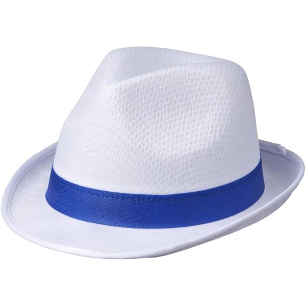 Trilby Hat - White