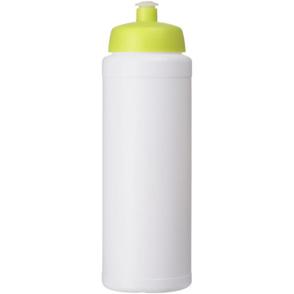 Baseline® Plus 750 ml lahev se sportovním víčkem - Bílá / Limetka