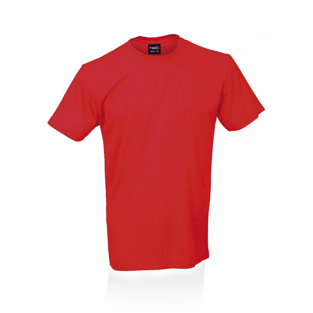 Camiseta Adulto Tecnic - Rojo / M