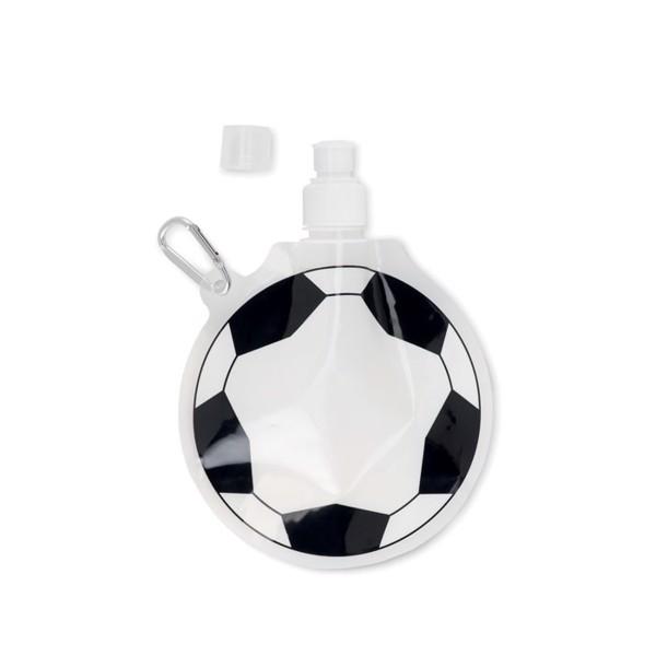 "Faltbare Trinkflasche ""Fußball Bally"