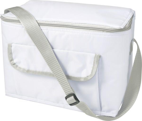 Kühltasche 'Orlando' aus Polyester - White