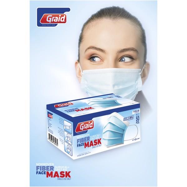 Obličejová maska typu Moore IIR