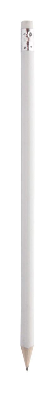 Tužka S Gumou Godiva - Bílá