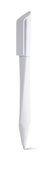 BOOP. Kuličkové pero s otočným mechanismem - Bílá