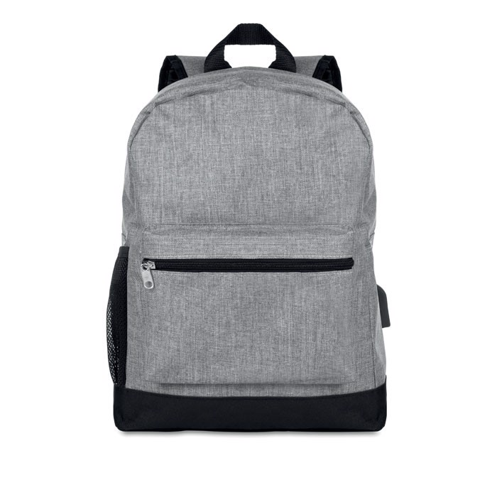Lopásgátló párnázott hátizsák Bapal Tone - szürke