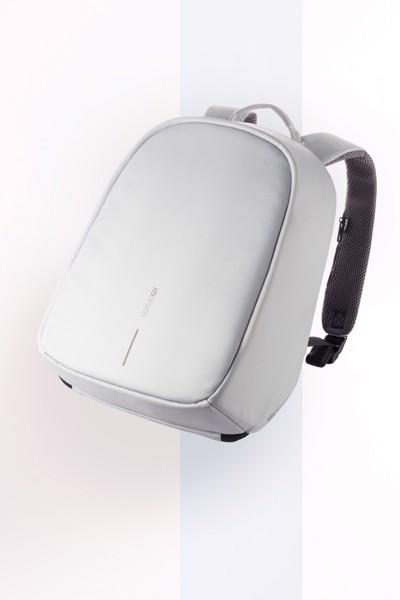 Bobby Hero Spring, Anti-theft backpack - Grey