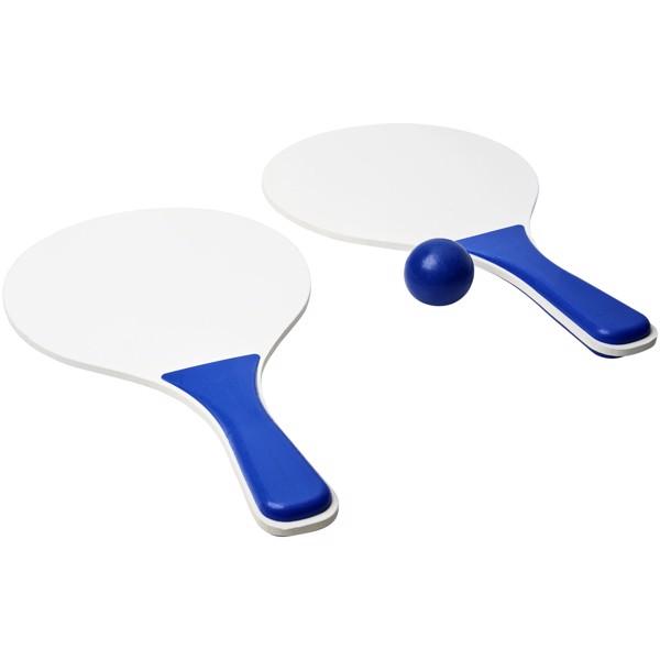 Zestaw do gier plażowych Bounce - Błękit królewski / Biały