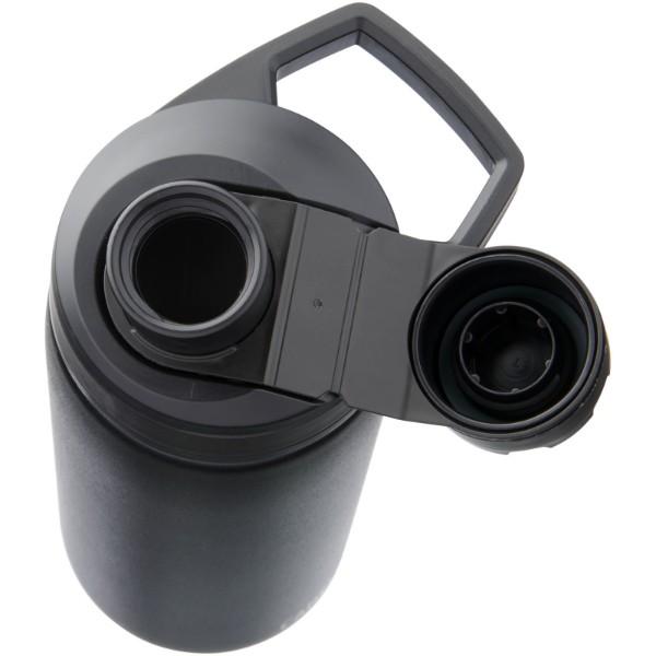 Měděná láhev Chute Mag 600 ml s vakuovou izolací - Černá