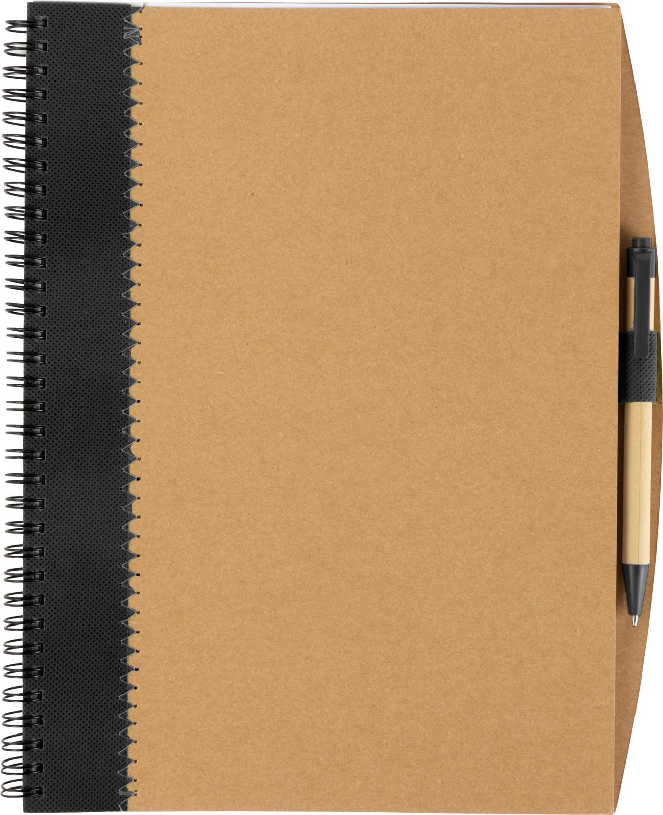 Cuaderno de cartón - Black