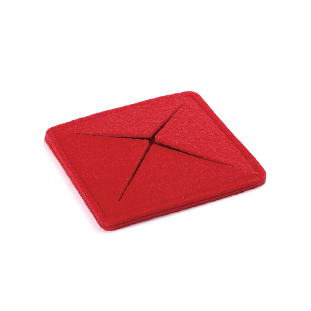 Posavasos Tanzak - Rojo