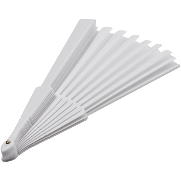 Maestral foldable handfan in paper box - White