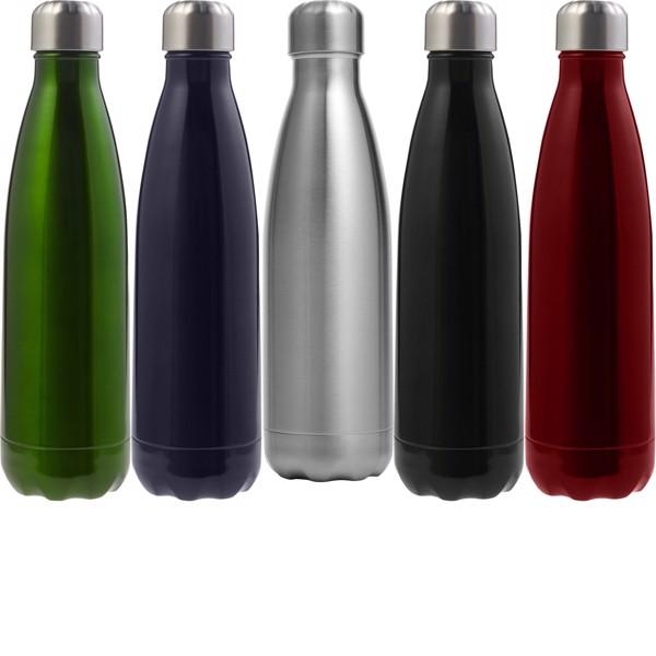 Stainless steel bottle (650 ml) - Green