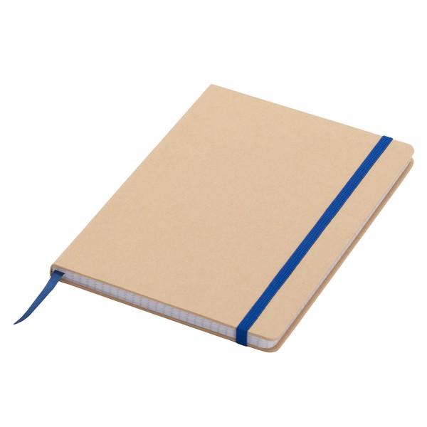 Notatnik 145x210/80k kratka Lisboa - Niebieski