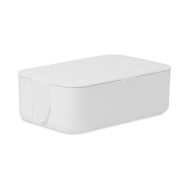 Lunch box in PP Wednesday - White