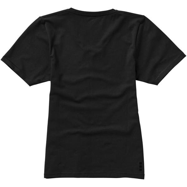 Kawartha short sleeve women's GOTS organic t-shirt - Solid black / S
