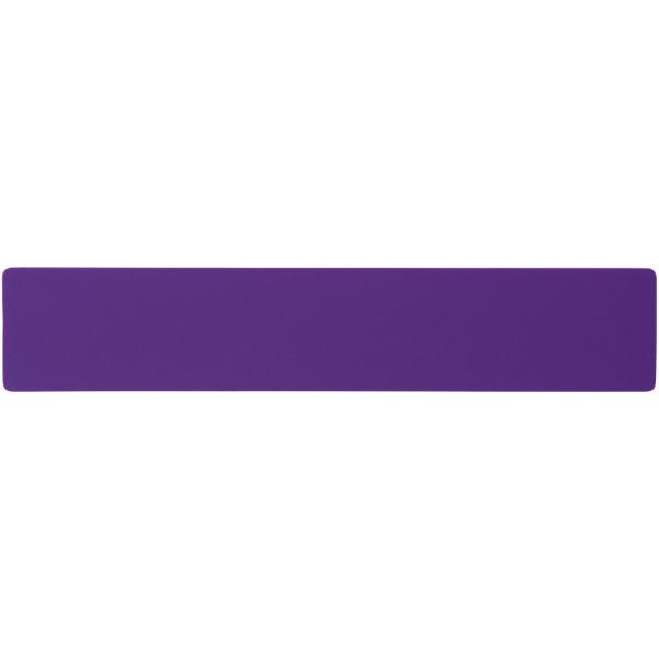 Rothko 20 cm plastic ruler - Purple