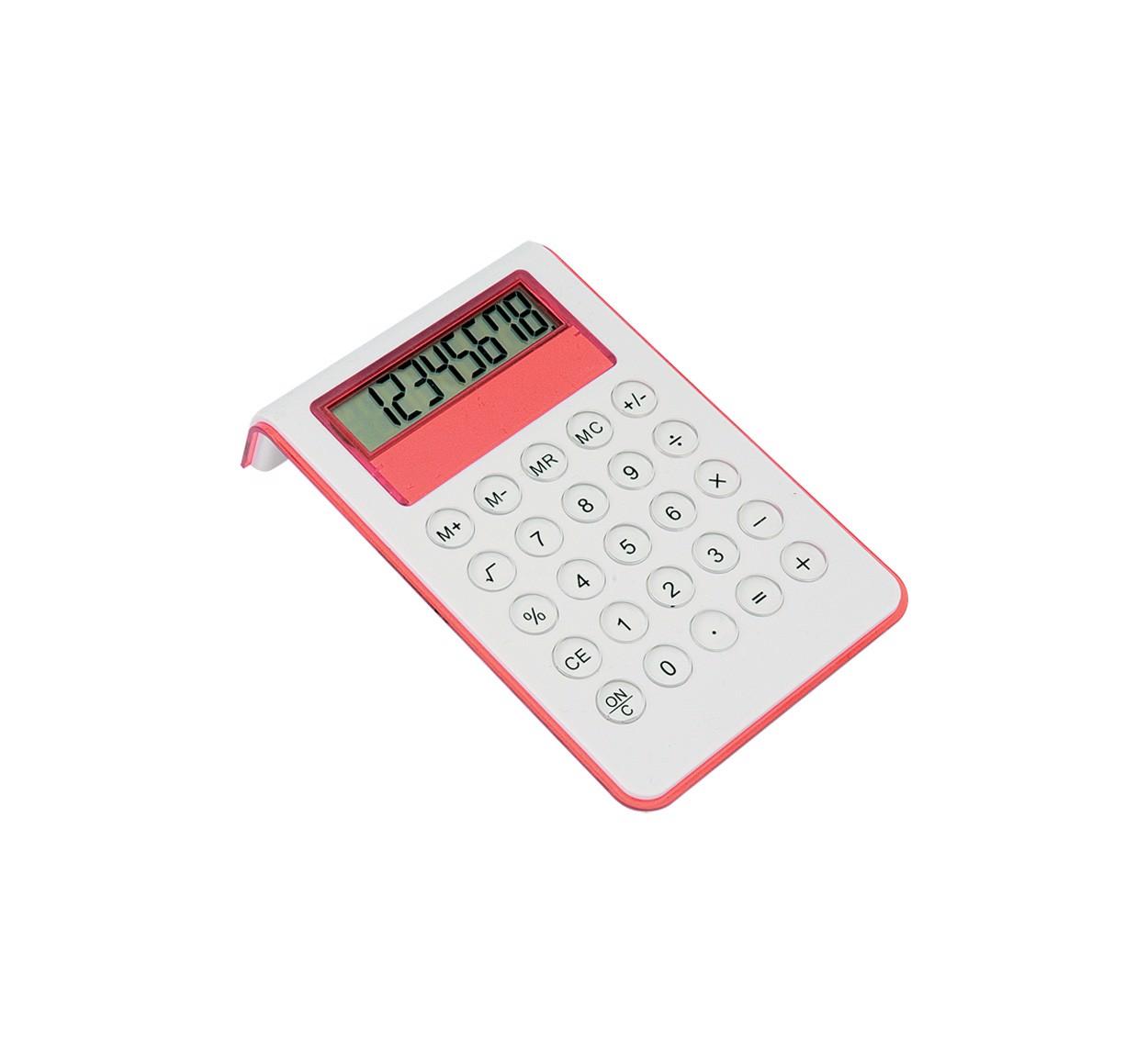Kalkulačka Myd - Červená / Bílá