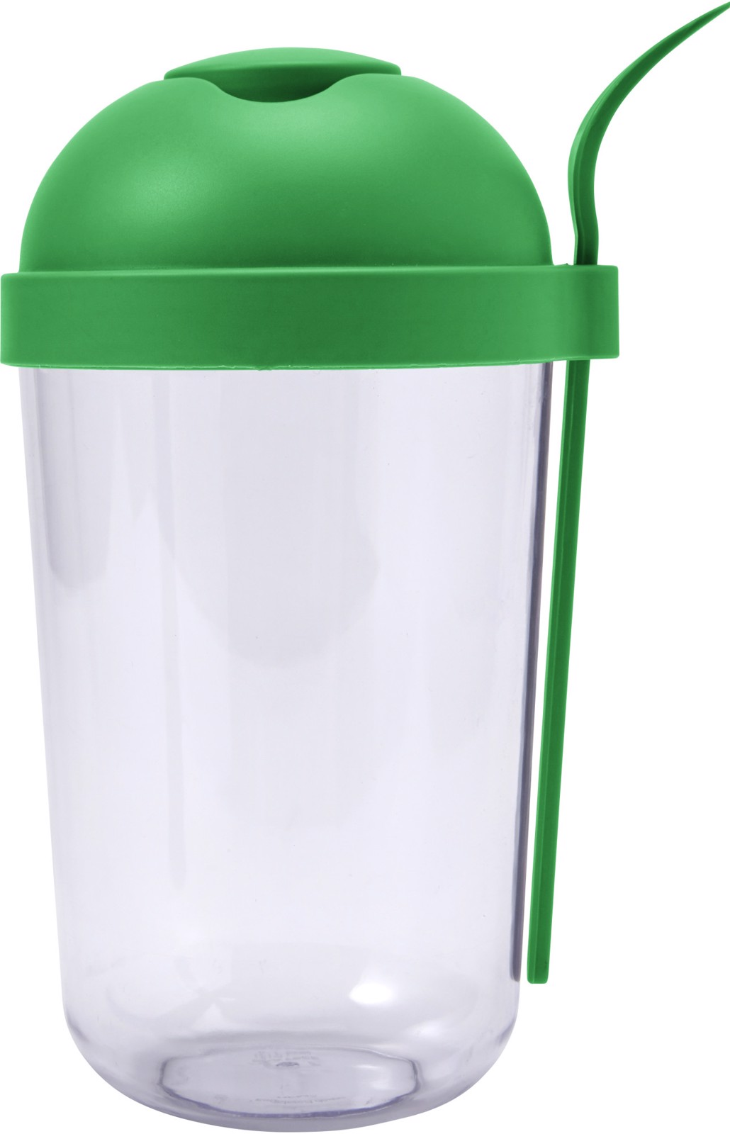 Plastic salad cup with plastic fork (950ml)