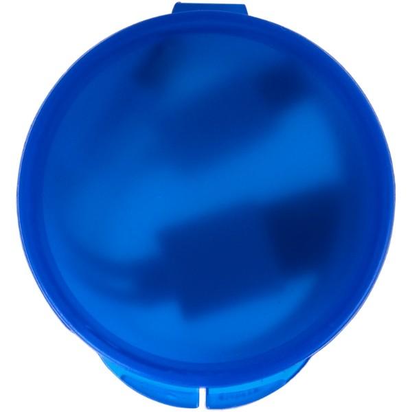 Versa 3-in-1 Ladekabel im Etui - Transparent Royalblau