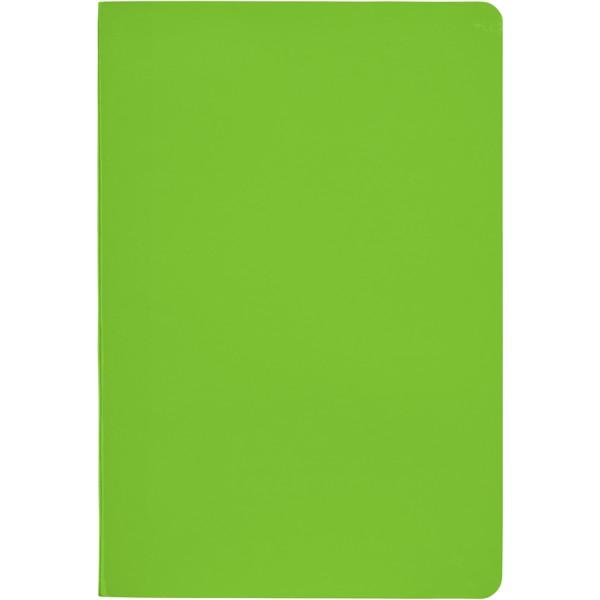 Notes A5 Gallery w miękkiej okładce - Zielony limonkowowy