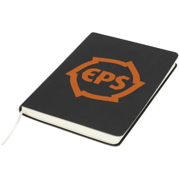 Zápisník Liberty z příjemně měkkého materiálu - Černá