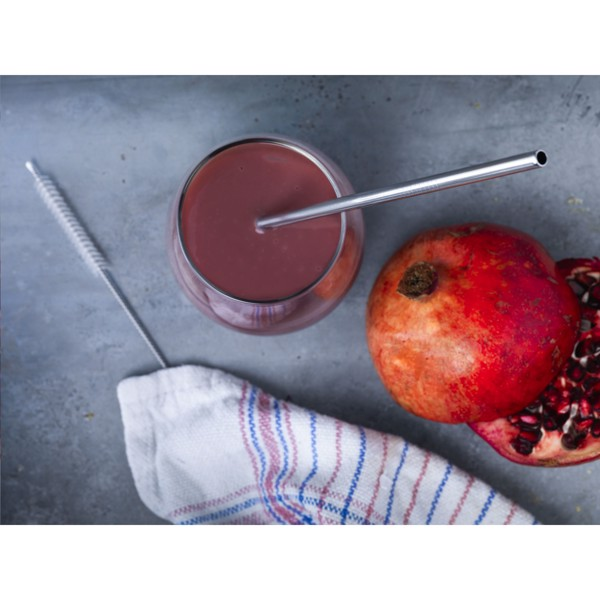 Reusable 1 piece ECO Straw Set stainless-steel straw