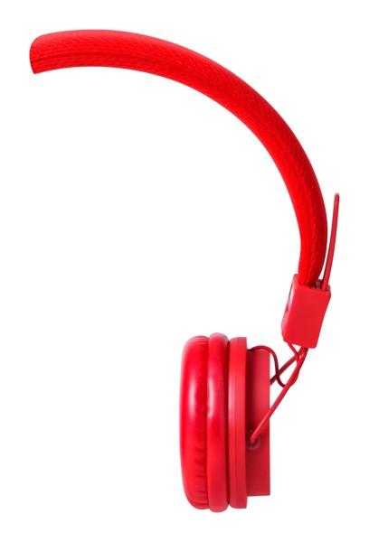 Sluchátka Neymen - Červená