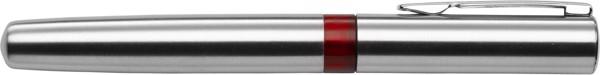 Stainless steel ballpen - Red